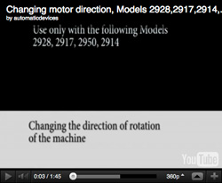 Change motor direction